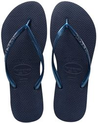 Havaianas Flipflops Slim - Blauw
