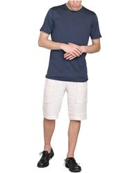 Transit - Linen Shorts Beige - Lyst