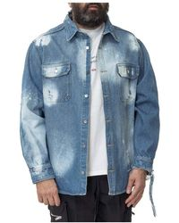 424 Workwear Shirt - Bleu