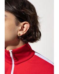 Versace Appliquéd earrings Amarillo