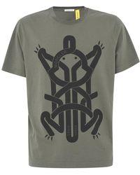 Moncler T-shirt - Groen
