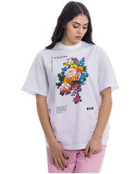 MSGM T-shirt - Wit