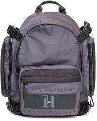 Tommy Hilfiger Backpack With Logo - Grijs