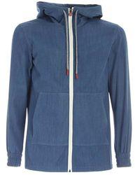 Kiton Sweatshirt - Bleu