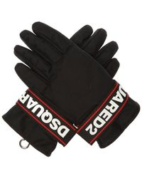 DSquared² - Branded Ski Gloves - Lyst