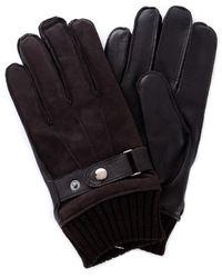 Guess Am8575lea02 Handschoenen - Bruin