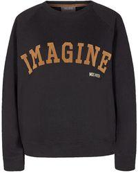 Mos Mosh Ace Sweatshirt - Zwart