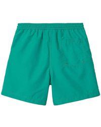 Carhartt WIP Chase swim trunks Verde