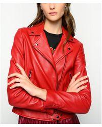 Pinko Jacket Rojo