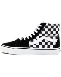 Vans Zapatillas Sk8-hi Checkerboard - Zwart