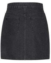 Custommade• Ricka skirt Negro
