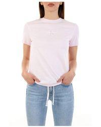 Calvin Klein - Short Sleeve T-shirt - Lyst