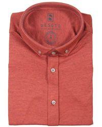 DESOTO Dress Hemd - Rood