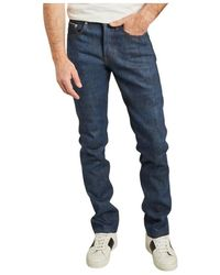 Naked & Famous Jean Weird Guy Chinese New Year - Blu