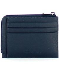 Piquadro Akron Rfid Credit Card Holder Azul