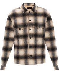 AllSaints 'Lewes' checked jacket - Neutre