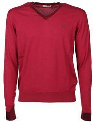 Etro Multiyarn Sweater - Rouge