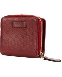 Gucci Compact Wallet - Rood