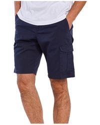 GANT D1. Relaxed Utility Shorts - Bleu