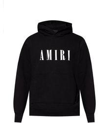 Amiri Patterned Hoodie - Zwart
