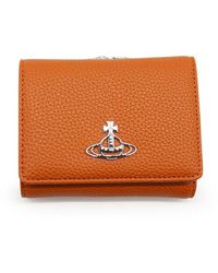 Vivienne Westwood Porta monete Emma - Orange