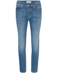 Calvin Klein Slim Jeans - Blu