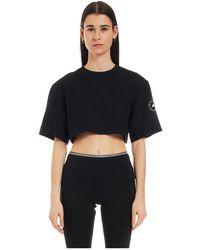 adidas By Stella McCartney Gl7340 T-shirt maniche corte - Noir