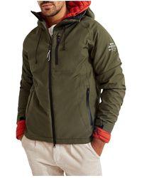 Hartford Katmandu Reversible Jacket - Verde