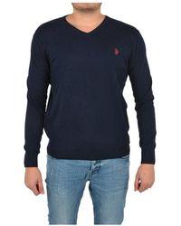 U.S. POLO ASSN. Sweater - Bleu