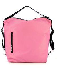 Mandarina Duck Hobo Bag Hunter - Roze