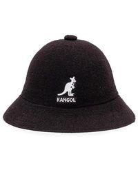 Kangol Big Logo Casual Hat - Zwart