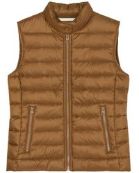 Marc O'polo Quilted Body Warmer - Bruin