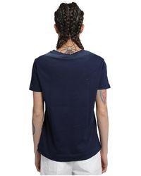 Massimo Alba T-shirt Azul