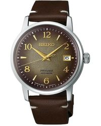 Seiko Presage Watch - Marrone