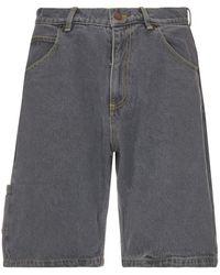 Rassvet (PACCBET) Denim Baggy Short Pants - Grijs