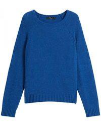 Max Mara Geo Knitwear - Blauw