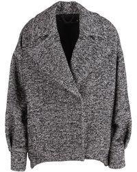 FEDERICA TOSI Coat - Zwart