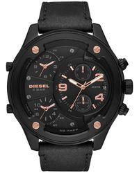 DIESEL Time Frames Dz7428 Watch Men Black - Zwart