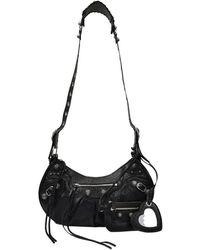 Balenciaga Le Cagole Bag S Leather - Zwart