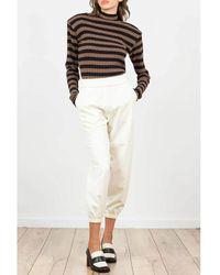THE M.. Sweater - Marron