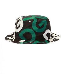 Dolce & Gabbana Patterned Hat - Zwart