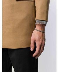 Emanuele Bicocchi Bracelet Gris
