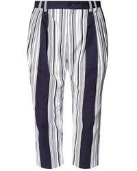 Dolce & Gabbana Striped trousers - Blau