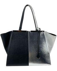 Fendi Vintage 3Jours Tote Shopping Bag - Nero