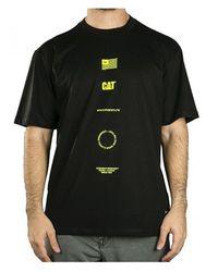 Caterpillar 2511728 T-shirt Logo - Zwart