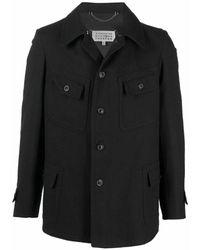 Maison Margiela Jacket with multiple pockets - Negro