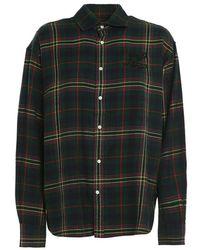 Ralph Lauren Camicia Button Front - Groen