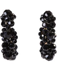 Simone Rocha Embellished Earrings - Zwart