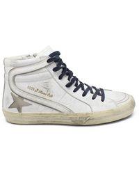 Golden Goose Deluxe Brand Slide Sneakers - Wit