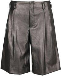 Erika Cavallini Semi Couture Shorts Pgp016051 - Schwarz